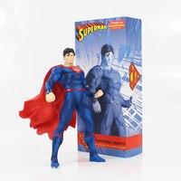 19cm superman cool PVC action figure model toy HERO super man collection