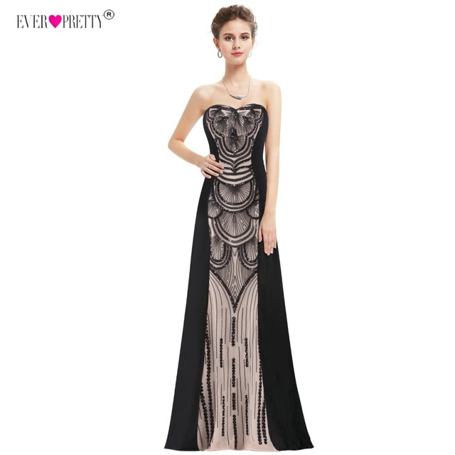 1e2ab847f1859 US $64.99 |Robe de Soiree Longue Real Kaftan Dubai Black Luxury Gold  Mermaid Evening Dresses Formal Evening Gowns China Vestido Longo-in Evening  ...