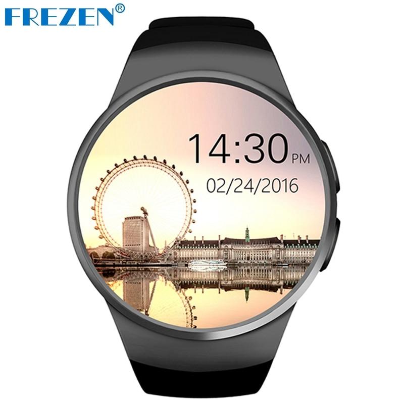 FREZEN KW18 Bluetooth Smart Watch Fullskärmsstöd SIM TF Card - Smart electronics