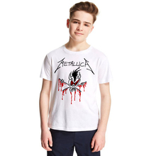 Classic Rock Heavy Metal Metallica Kids Tshirt – Boys Girls Children T-Shirt – Classic Rock Heavy Metal
