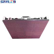 Rental LED Display Waterproof IP65 Full Color P10 640mm x 640mm Ultra Light Die-casting Aluminum LED Cabinet