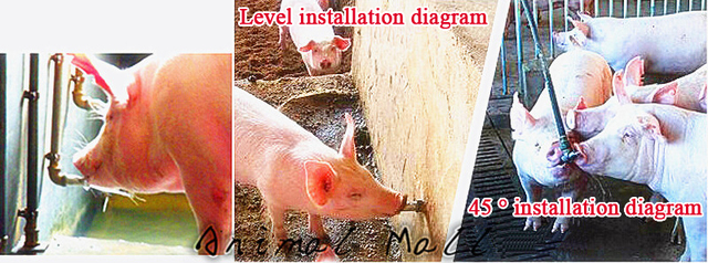 20 Pcs Thickened Stainless Steel The Metal Cap The Duckbill Pig Drinking Bowls For Bibcock Pig Pig Tools