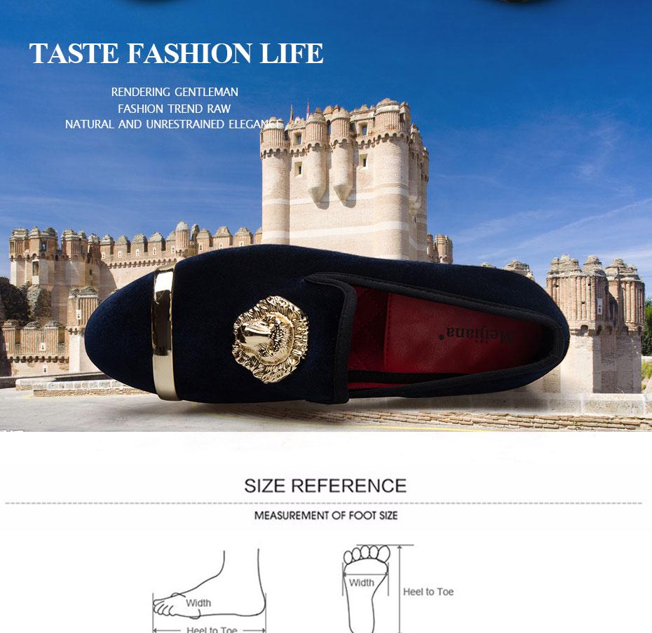 HTB1FAVdawkLL1JjSZFpq6y7nFXaO - New Fashion Gold Top and Metal Toe Men Velvet Dress shoes italian mens dress shoes Handmade Loafers