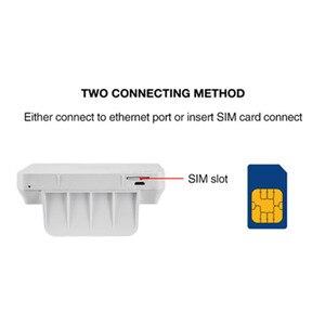 Image 4 - KuWfi 300 Мбит/с беспроводной CPE 4G LTE Wifi маршрутизатор ФЗД TDD LTE WCDMA GSM глобальная разблокировка внешние антенны слот для sim карты WAN/LAN порт
