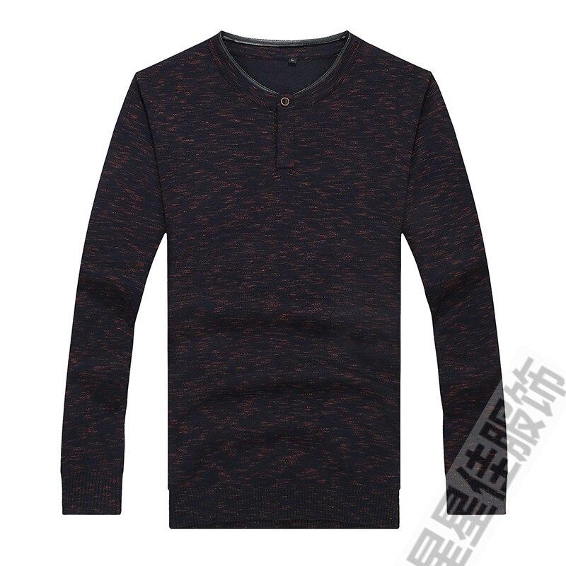 8XL 6XL 5XL 4X зимний свитер с воротником Хенли мужской кашемировый пуловер, Рождественский свитер мужские трикотажные свитера Pull Homme свитера цвета Омбре - 6