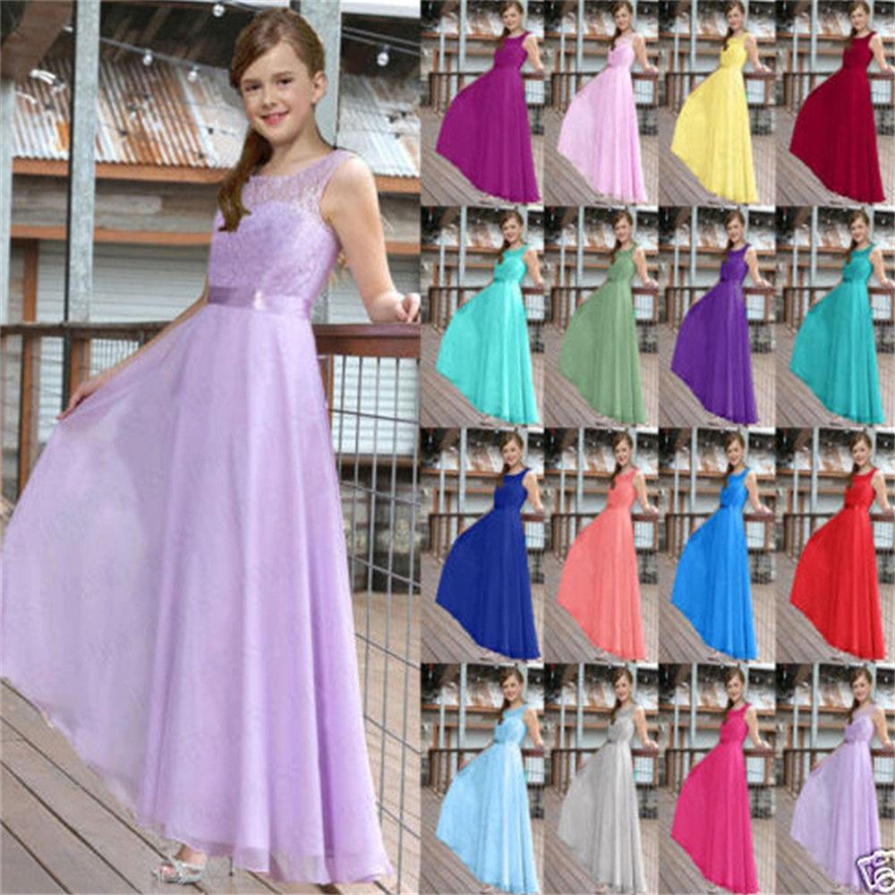 4-15 Jahre Marke Sommer 2016 Mädchen Formale Spitze Prom kleider ...