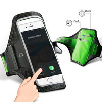 Baseus Sports Arm Band Case For IPhone 5 6s 7 Plus Outdoor Armbands Gym Phone Bag