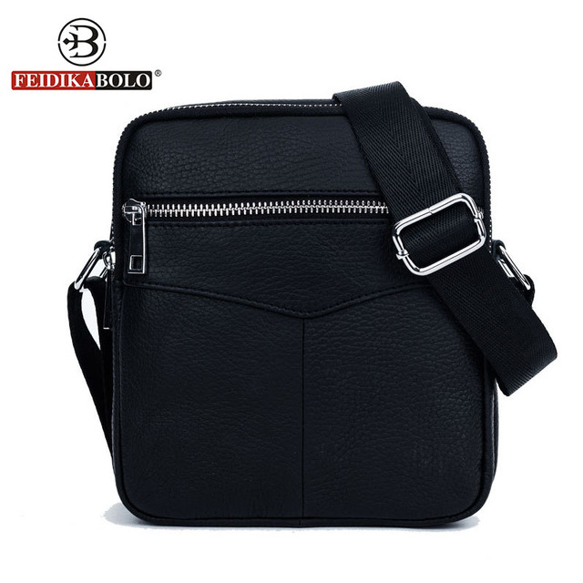 Feidika Bolo Brand Men Shoulder Bags Messenger Sling Bag Genuine Leather Man Satchels Handbags Designer