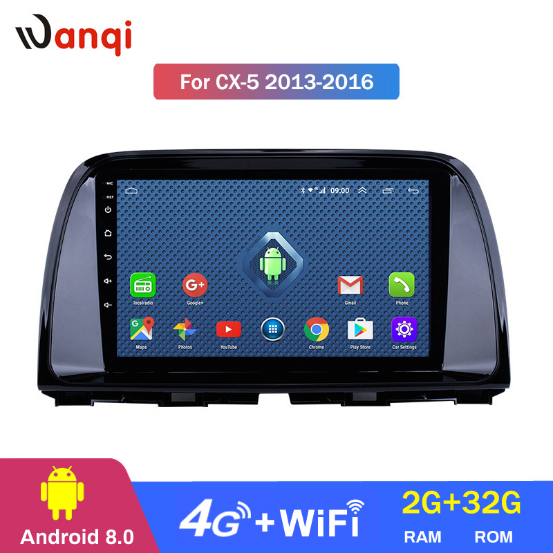 4G Lte All Netcom android 8.0 car dvd For <font><b>Mazda</b></font> <font><b>CX5</b></font> CX-5 CX 5 2013-2016 car radio multimedia player stereo video gps <font><b>navigation</b></font> image