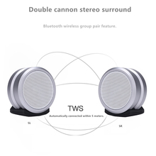 Bluetooth Speaker IPX7 waterproof V4.2 3d Surround Wireless AUX Small Sound TWS Couplet Subwoofer JKR-5