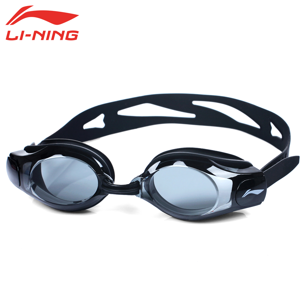 LI NING 1 5 6 0 Anti Fog Re UV Myopia Swimming Goggles Men Women Super