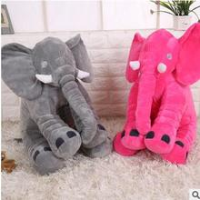 Stuff Elephant Pillow Baby Playmate Toy Sleeping