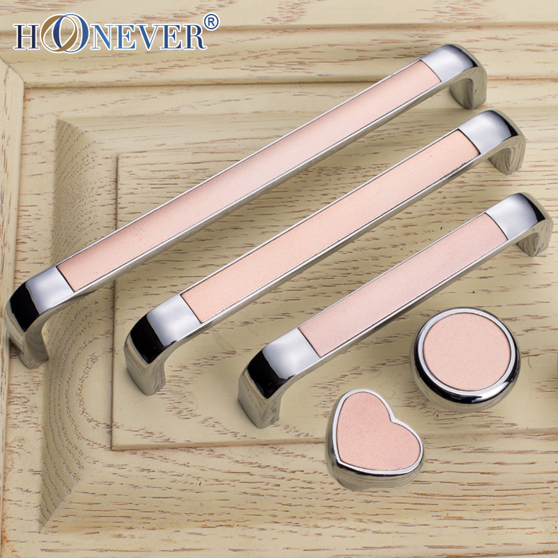 Beautiful 5pcs Concise Door Handle Pink Hardware Love Heart Cupboard Cabinet Handles  Wardrobe Handle Silver Round Drawer Pull In Cabinet Pulls From Home  Improvement ...