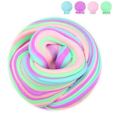 15 Colors Fluffy Foam Slime Clay Ball Supplies DIY Light Soft Cotton Charms Slime Fruit Kit Cloud Craft Antistress Kids Toys