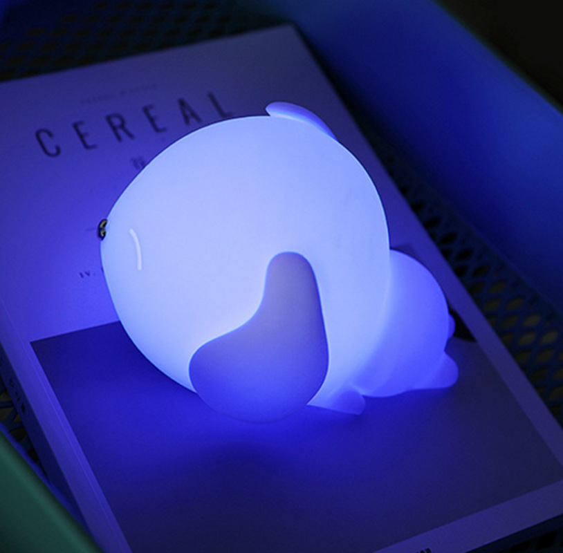 Led Lamps Helpful Colorful Table Lamp Silicone Usb Rechargeable Led Night Light Bedsides Desk Lamps Bedroom Babyroom Night Lights Children Gift Lovely Luster