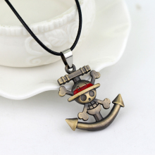 One Piece Anchor Hat Pendant Necklace