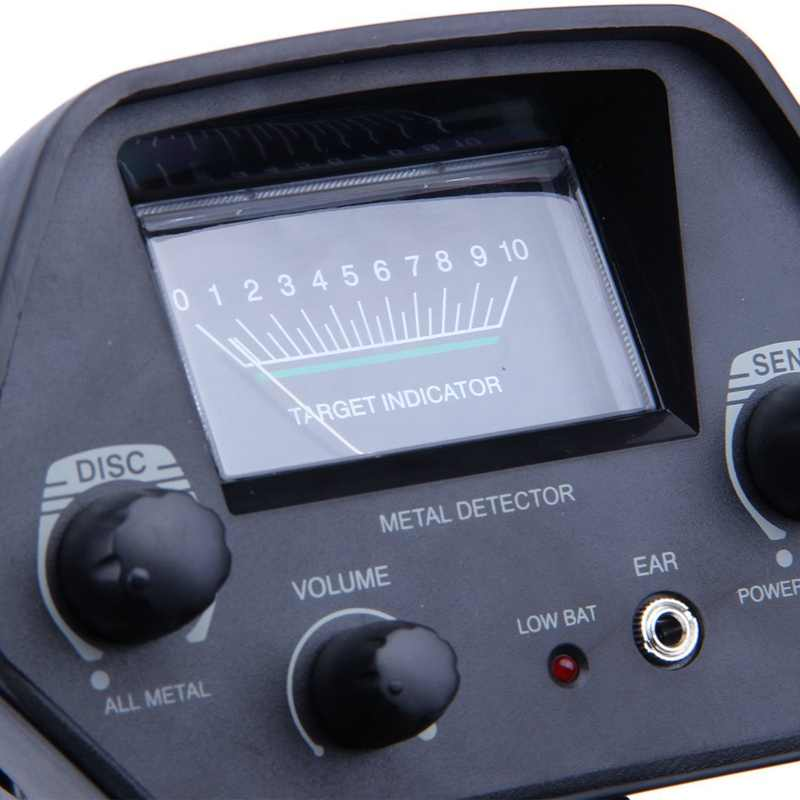 MD-4030 เครื่องตรวจจับโลหะกันน้ำลึก Sensitive ค้นหา GOLD Digger Hunter 6.5 นิ้ว Handheld Metal Detector การสแกน GOLD Hunter