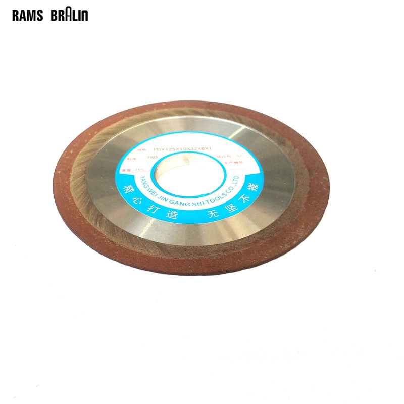 1 piece Dia. 125/150mm*10*32*8*1mm Slope Diamond Grinding Disc Resin Abrasive Cutting Wheel Knife Blade Polishing