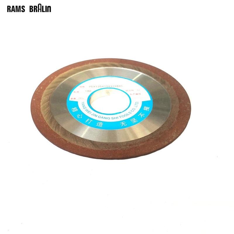 1 Piece Dia. 125/150mm*10*32*8*1mm Slope Diamond Grinding Disc Resin Abrasive Cutting Wheel Knife Blade Polishing