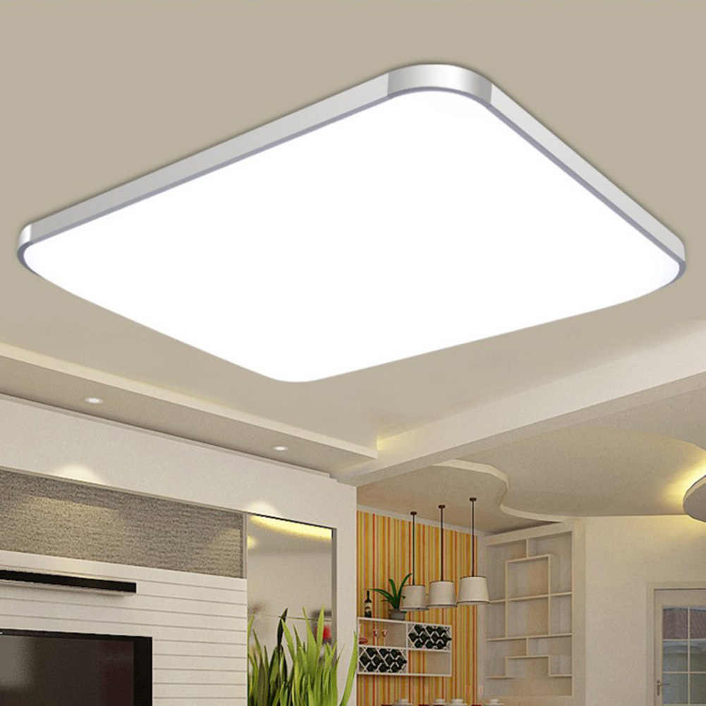 HOT LED Ceiling Down Light Lamp 24W Square Energy Saving For Bedroom Living Room NDS66
