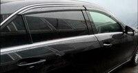 Окно Visor Vent Тенты дождь/Защита от солнца/ветра охранник для Benz E Class W212 E200 e250 E300 E350 2010 2015