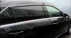 Okno Visor Vent Shade deszcz/słońce/osłona przeciwwiatrowa dla Benz E klasa W212 E200 E250 E300 E350 2010 2015|Listwy wewnętrzne|Samochody i motocykle -