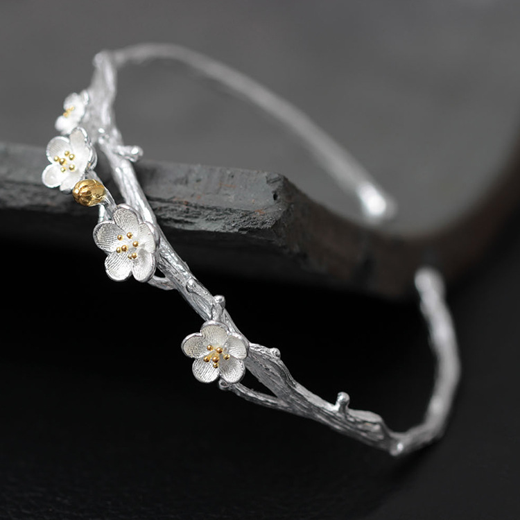 S925 стерлінговий срібний браслет для - Вишукані прикраси