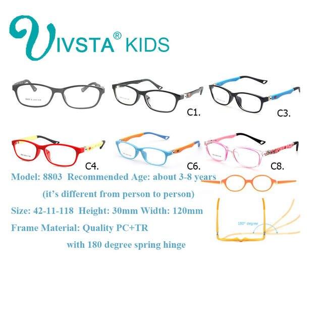 1db62da962 placeholder IVSTA Kids Glasses Frames in Girls Eyeglasses Optical Eye  Glasses Boys Eyewear Flexible Prescription Pink Kids