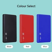 "HDD 2,"" внешний жесткий диск 80 ГБ 120 Гб 160 Гб 250 ГБ 320 500 1 ТБ 2 ТБ USB3.0 высокое Скорость жесткий диск HD для ПК/Mac PS4 Xbox ТВ"