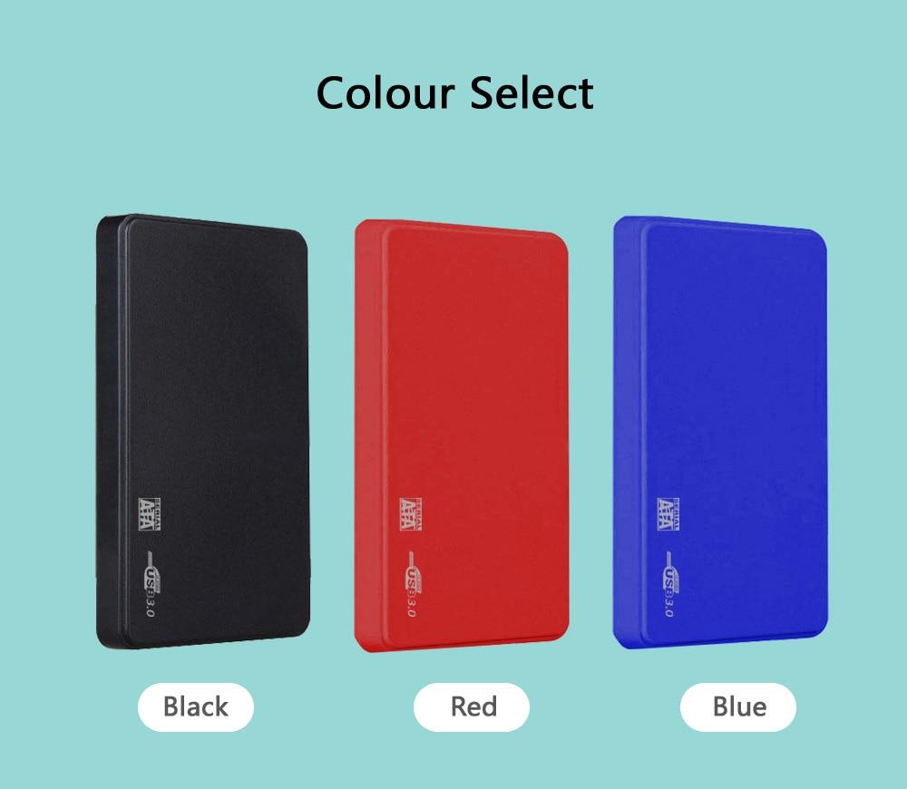 Disque dur externe HDD 2.5 80 GB 120GB 160GB 250GB 320GB 500GB GB 1 to 2 to USB3.0 disque dur haute vitesse HD pour PC/Mac PS4 Xbox TV