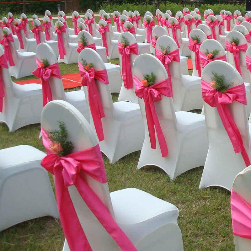 """100 штук 21 цвета 6 """"x 110"""" Атласное кресло пояс бантик ленты для свадебной вечеринки украшения поставка, бесплатная доставка"""