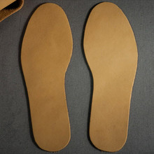 leather insole mens / womens health care sweat deodorant breathable antibacterial tanned 2.5mm thickness