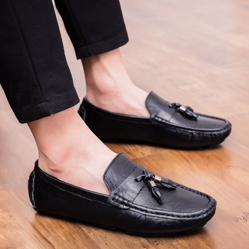 Men Loafers Shoes outdoor Italy Oxfords Business Dress Boat Shoes Formal Oxford Men Flat Shoes Wedding party shoes p4 37
