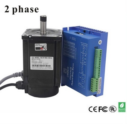 2 Phase 8.5nm Closed-Step Stepper Servomotor Driver Kit 86J18118EC-1000 + 2HSS86H Cnu Motor Driver2 Phase 8.5nm Closed-Step Stepper Servomotor Driver Kit 86J18118EC-1000 + 2HSS86H Cnu Motor Driver