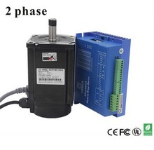 2 Phase 8.5nm Closed-Step Stepper Servomotor Driver Kit 86J18118EC-1000 + 2HSS86H Cnu Motor Driver цена