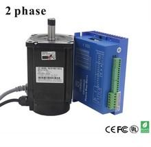цена на 2 Phase 8.5nm Closed-Step Stepper Servomotor Driver Kit 86J18118EC-1000 + 2HSS86H Cnu Motor Driver