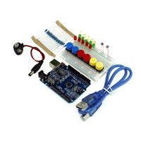 Smart Electronics Integrated Starter Kit UNO R3 Mini Breadboard LED Jumper Wire Button For Arduino Kit