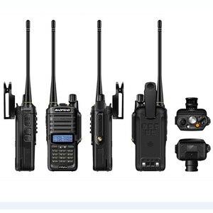 Image 5 - 2 PCS Baofeng UV 9R UV9R UV 9R בתוספת חזיר VHF UHF רדיו תחנת עמיד למים Baofeng מכשיר קשר IP67 משדר Boafeng 10 km w
