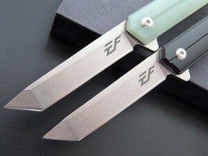 Image 4 - Eafengrow EF65 58 60HRC D2 bıçak G10 kolu katlanır bıçak Survival kamp aracı avcılık çakı taktik edc dış ortam aracı