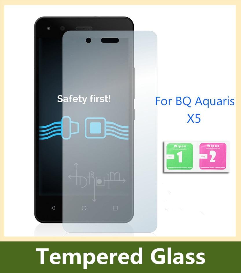 Para BQ Aquaris x5 Protector de pantalla de película protectora de - Accesorios y repuestos para celulares