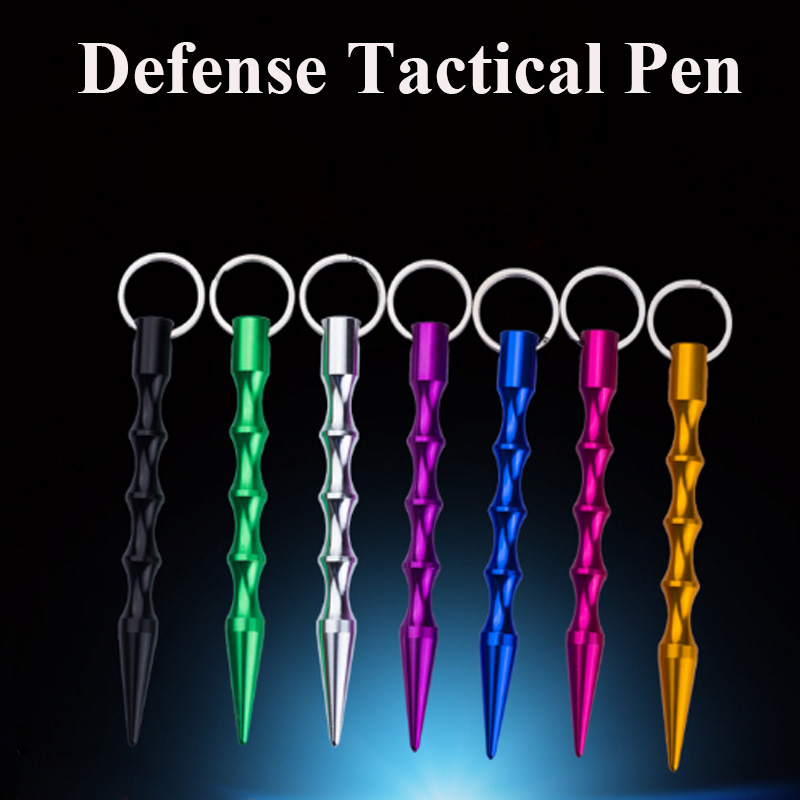 HYBON 1Pcs/Lot  Tactical Pen Stainless Steel  Survival Weapons Glass Breaker Self Defence Pen Tactic Outdoor Camp EDC Tool Stift 1pcs women men safety survival ring tool edc self defence stainless steel ring finger defense ring tool silver gold black color