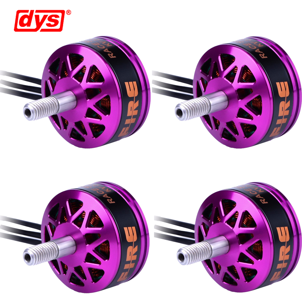 4pcs/lot DYS Fire 2206 2100KV 2300KV 2600KV 2-4S Brushless Motor 2 CW 2 CCW For 200 210 220 280 FPV Racing Frame 4set lot original emax rs2205 2300kv 2600kv brushless motor for fpv quad racing qav race 2 cw 2 ccw wholesale dropship