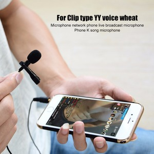 Image 5 - OLLIVAN Pro Audio Microphones 3.5mm Jack Plug Clip on Lavalier Mic Stereo Record Mini Wired External Microphone for Phone 1.5M