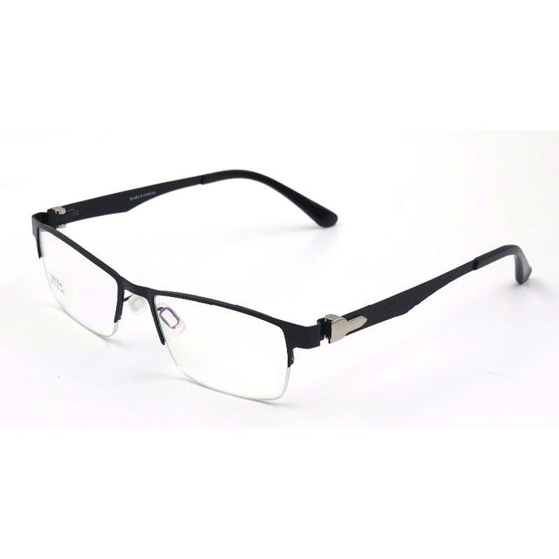 Gmei Optical S6704 Eyeglasses Frame Optical SemiRimless Alloy Eyewear