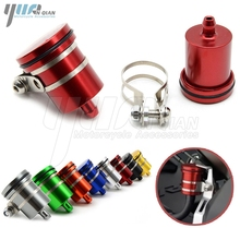 MT 09 MT07 Motorcycle Accessories motorcycle Brake Fluid Reservoir Clutch Tank Oil Cup For TRIUMPH TIGER 800/XC 2011 2014 TT 600