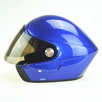 Open face Hang gliding helmet Paragliding helmets Blue colour EN966 Paraglider helmet