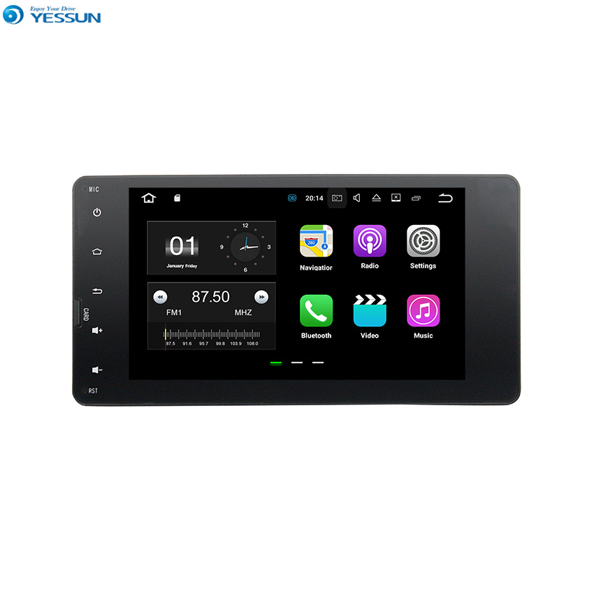 Clearance YESSUN For Mitsubishi Outlander 2011~2014 Android Car Navigation GPS Audio Video Radio Screen Multimedia HD Player No CD DVD. 0