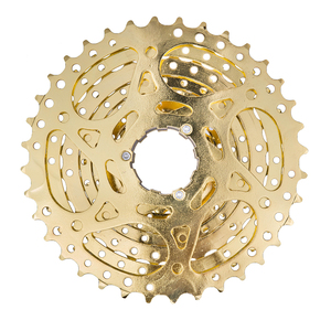 Image 4 - ZTTO MTB Mountain Bike Bicycle Parts 9s 27s 9 Speed 11 36T Gold Golden Freewheel Cassette K7 11V for M370 M430 M4000 M590 M3000