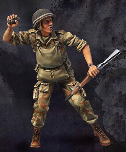 1/35 Resin Kits Vietnam War Soldier 1pc Model Kits image