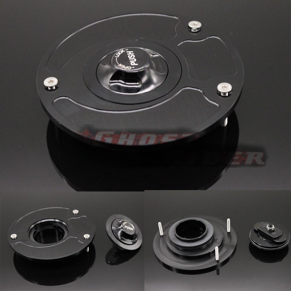 Высокая качественные мотоциклетные детали алюминий сплав газа топливный бак кепки Крышка черный топлива подходит для YAMAHA